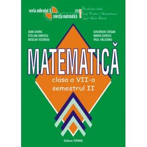 Matematica clasa a VII-a, semestrul II