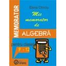 Mic memorator de algebra cls IX-XII
