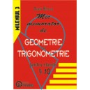 Mic memorator geometrie si trigonometrie cls IX-X
