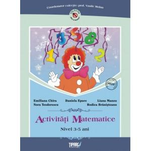 Activitati matematice, nivel 3-5 ani