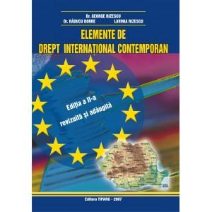Elemente de drept international contemporan