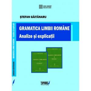 Gramatica limbii române. Analize şi explicaţii