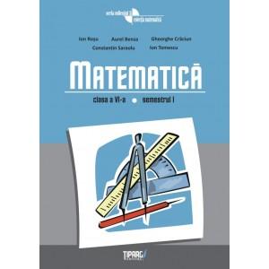 Matematică - auxiliar pentru clasa a 6-a, sem. 1