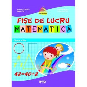 Fise lucru matematica cls a II-a