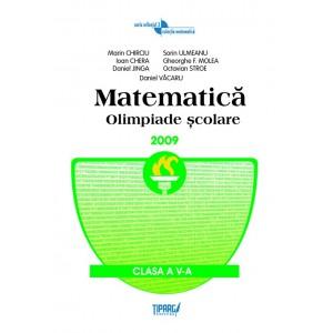 Matematica. Olimpiade scolare, clasa a V-a