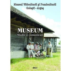 Museum. Studii si comunicari, Vol X