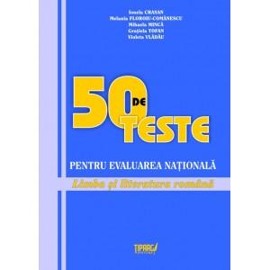 50 de teste pentru Evaluarea Nationala 2012