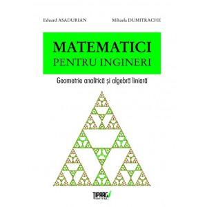 Matematici pentru ingineri. Geometrie analitica si algebra liniara