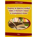 Elemente de didactica predarii limbii si literaturii romane in invatamantul primar